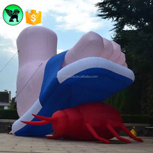 Event Inflatable Foot Model Giant Inflatable Feet Customized Body Replica Inflatable A1151