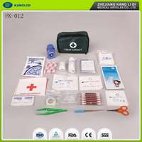 KLIDI EVA Material Small Emergency Survival Car First Aid Kit Wholesale