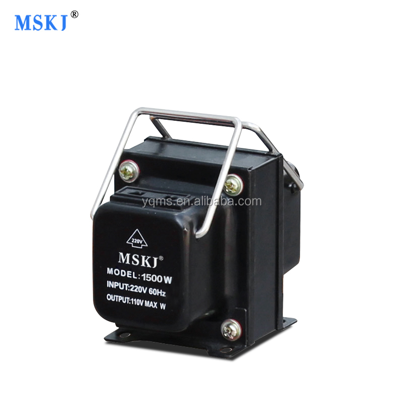 1500W single phase step up step down voltage transformer