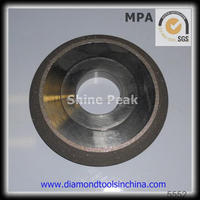 Wide U Slot Dry Cutting Asphalt and Green Concrete Diamond Saw Blade