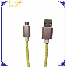 colorful micro braided usb cable usb 2.0 debug cable