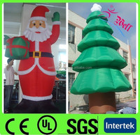 Hot sell Holiday inflatable christmas decorations / large inflatable santa claus