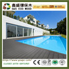 Hollow wpc anti-aging wood plastic decking cheap price outdoor decking terrace floor wood floor