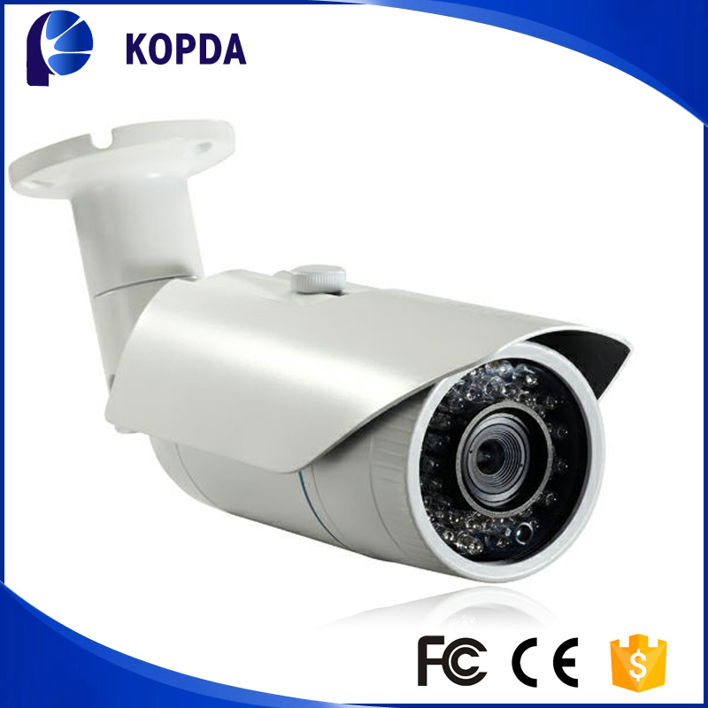 outdoor SONY IM122 2.0 Megapixel CMOS 3MP 8mm lens IR distance 30-50m Support E-touch 1080p onvif bullet ip camera