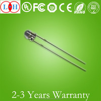 Lowest Price Epoxy Resin 0.5W Green Round Head 3mm Discrete LED Diode