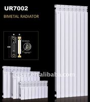 CE Certificated 800CC Bimetal Heating Radiators Water UR7002-800