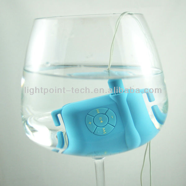 2013 8GB 100% IPX8 waterproof MP3 Player