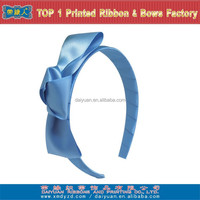 2015 new style blue ribbon hair accessories
