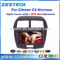 ZESTECH auto radio car gps dvd player for citroen c4 aircross car radio with mp3 player