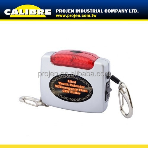 CALIBRE Promotion gift Auto Trunk Extender with red Emergency flash light