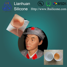 life casting liquid silicone rubber for facial mask