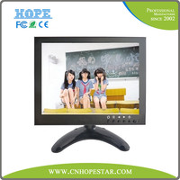 Split screen cctv monitor 7 inch security monitor