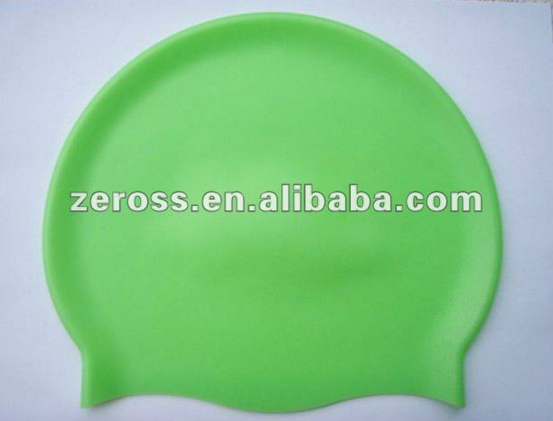 Perfect water-proof silicone swimming caps