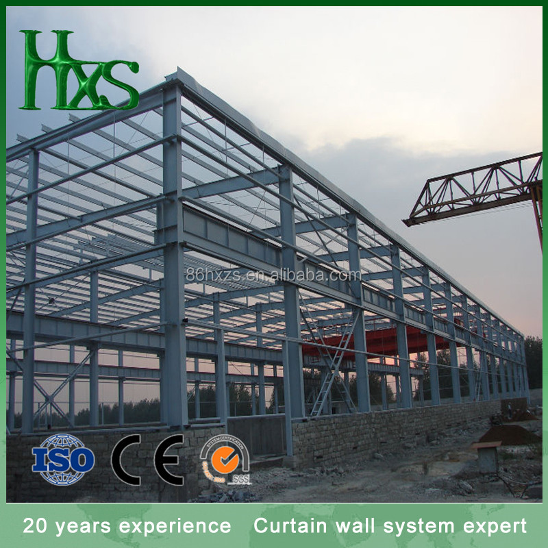 Ware house building / industrial building prefabricated / prefabricated building houses
