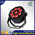 Factory price stage wash 9 x 12w rgbwa 5 in1 led par light