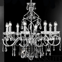 China new design modern wrought iron chandelier lighting
