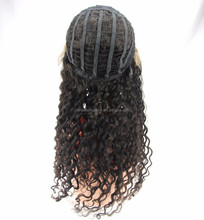 factory price top fashion stock brazilian hair lace front wigs with free parts