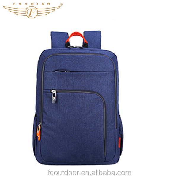 Multifunctional School Bag Sport Laptop Canvas Backpack With Trolley Bag
