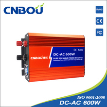 Dc-AC 600w pure sine wave power inverter dc 12v ac 220v 600W solar inverter