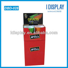 portable display shelves for retail stores clothing cardboard display stand