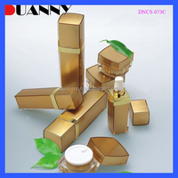 HOT SALE ACRYLIC COSMETIC LOTION BOTTLES AND JARS,SMALL PLASTIC CONTAINERS