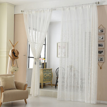 ready made embroidery dolly room window curtains textile for home turkish curtains