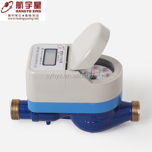 Brass Body IC Card Prepayment Household m-bus Water Meter