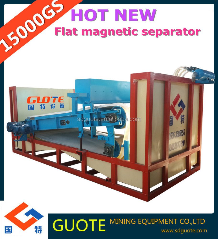 Series GTGB Wet 15000 Gauss high gradient plate magnetic separator with water