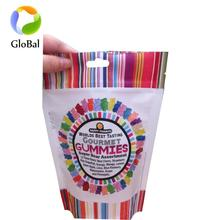 China supplier fudge soft sweets packing bag standing up pouch with short production time