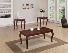 Economic durable coffee table sets recycled solid wood furniture
