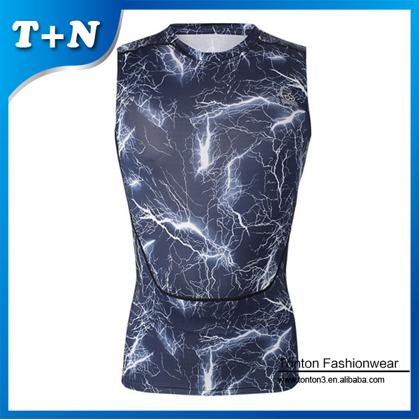 custom dye sublimation clothing singlets, sleeveless jersey