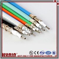rf coaxial PTFE custom Insulated car jumper cable