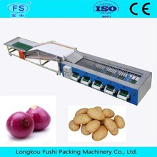 potato washing machine/tomato sorting machine/vegetable and fruit cleaning machine