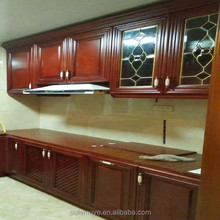 Whole High Quality Solid Wood Kitchen Cabinet Set