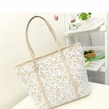 Bz2213 Factory supply hook flowers printed women hand bags
