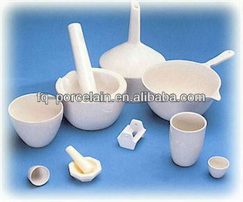 High Quality Porcelain Mortar With Pestle Work For Max.1380 Celsius Degree