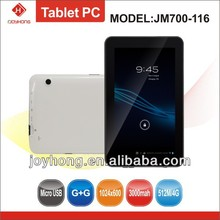 7 inch A13 tablet pc with Dual Camera&ISDB