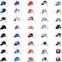 OEM cheap 100%polyester bike hat for men and cycling/bicycle cap for women