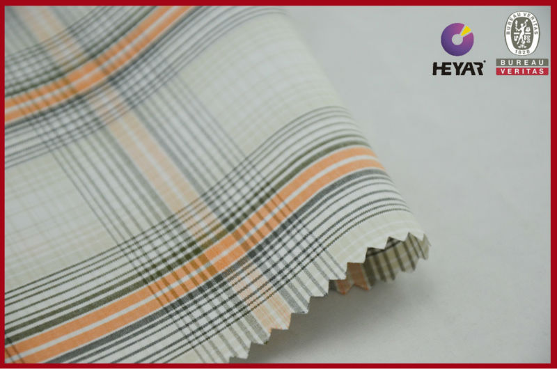 Check And Stripe 100% Cotton Checked Fabric