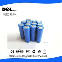 3.7v 2000mah lithium ion 18650 battery