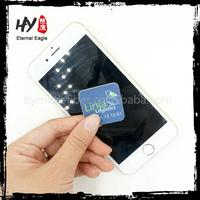Hot selling mobile phone sticker, stick mobile phone cleaner, mobile phone screen cleaner sticker