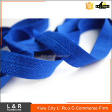 High stretch colored elastic headband binding tape