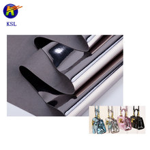 High quality microfiber Mirror fabric leather for bags