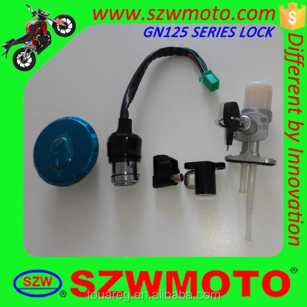 Hot sale GN125 series motorcycle ignition lock