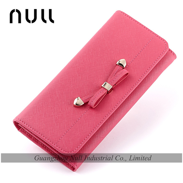 Elegant universal smart phone wallet style leather case