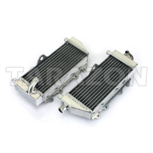 All aluminum motorcycle radiators for YAMAHA YZ 250X 2017