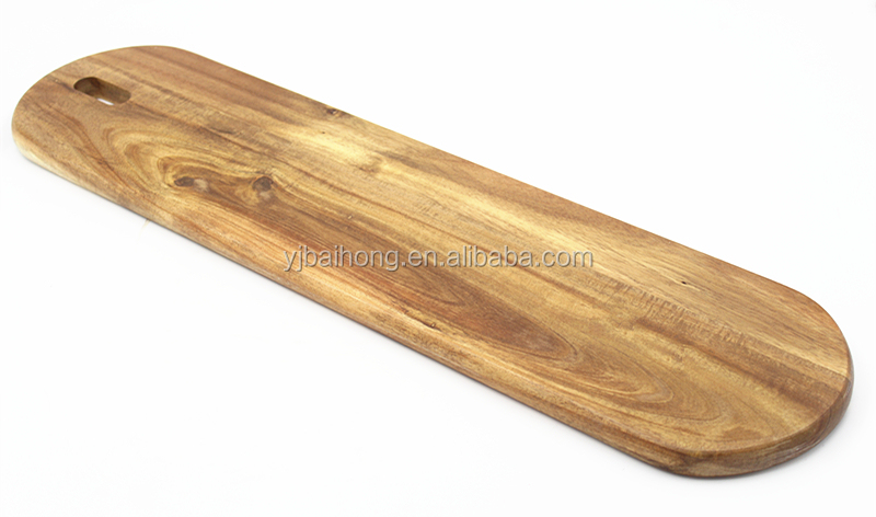 Acacia Wood Cheese Serving Board Bread Board