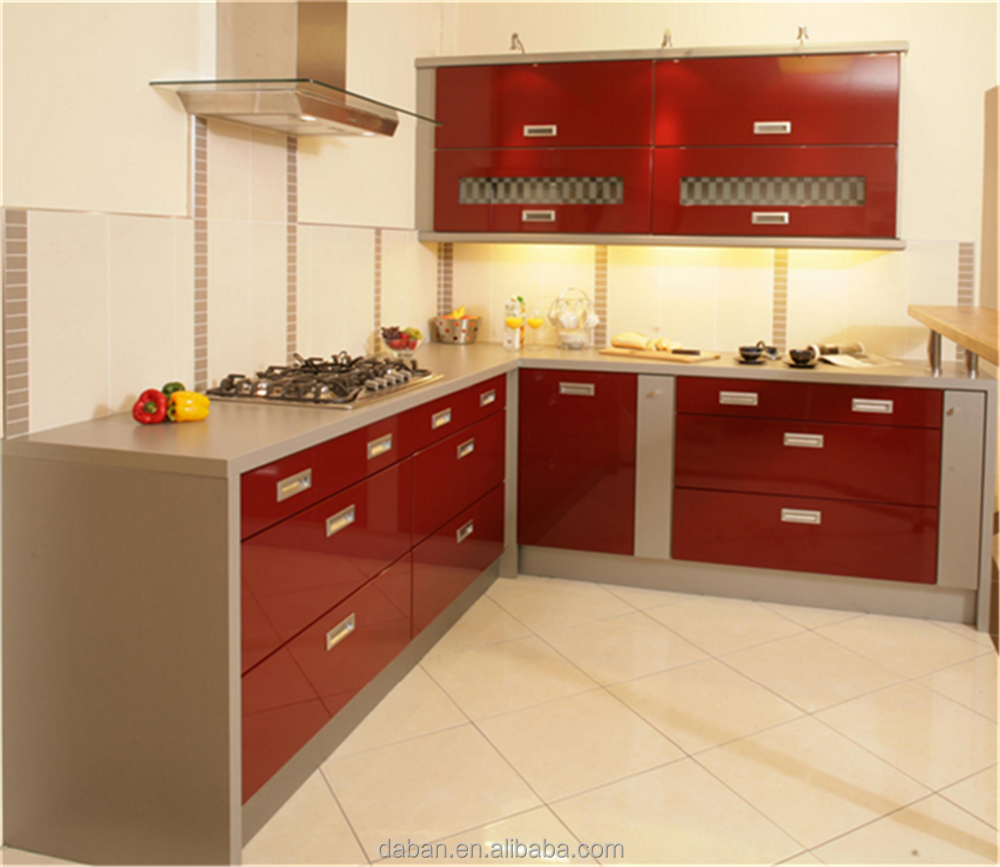 Hot sale modular kitchen cabinet made in china kitchen for Kitchen cabinet sets for sale
