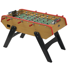 "60"" french style football table,baby foot game table.bonzini foosball table"