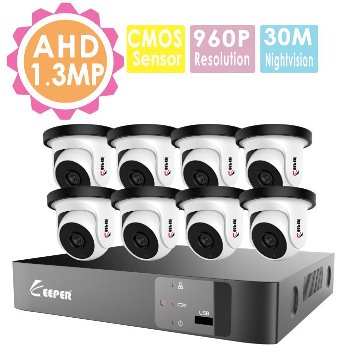 Dvr cctv kit cctv system dvr h 264 8ch dvr night vision camera